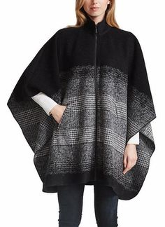 Bernardo Ladies' Zip Front Poncho