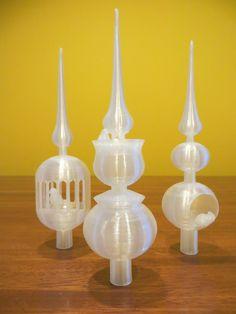 Kerst | Oost | Mik's Pop-up Shop 3D geprinte Pieken met vogeltje voor in je Kerstboom van 3D Uit Oost - €12,-