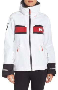 Helly Hansen 'Salt' Waterproof Hooded Jacket available at #Nordstrom