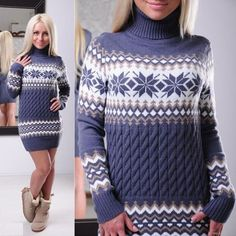 Autumn Winter Turtleneck Pullovers Women Long Sleeve Printed Ugly Christmas Sweaters Ladies Elegant Long Pull Femme Knitwear New