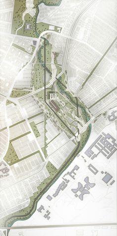Planta urbana general propuesta de espacio público. Edición Photoshop por Holman Durán Colour Architecture, Architecture Plan, Landscape Architecture, Landscape Diagram, Photoshop, Design Museum, Urban Planning, Cartography, Coastal