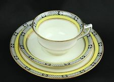 Art Nouveau AYNSLEY China TEA Set TRIO