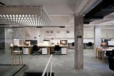 NOVA ISKRA: A Multifunctional Coworking Space for Creatives Photo OFFICE INTERIORS