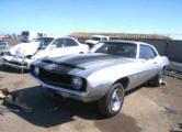 1969 Silver Black Chevrolet Camaro - Theft Recovery - $6,100 Project Cars For Sale, Camaro For Sale, Chevrolet Camaro, Recovery, Vehicles, Silver, Black, Black People, Car
