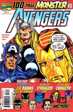 Avengers #27: The Old Order Changeth...Again!