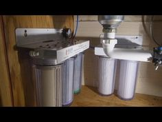 DIY Home Water Filter (5 stage no RO) - YouTube