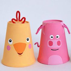 30 Disposable Cup Crafts for Kids - Kids Art & Craft