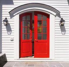 double red doors #myobsessionwithreddoors