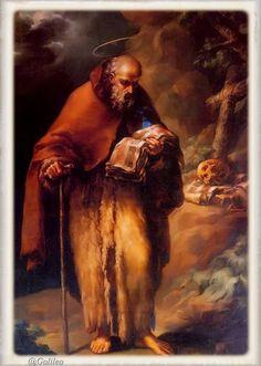 "Memorial of Saint Anthony, Abbot ""Discipleship"" San Antonio Abad, Catholic Art, Caravaggio, Chiaroscuro, Priest, Jesus Christ, Mystic, Saints, Spirituality"
