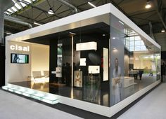 Cisal Exhibition Stall, Exhibition Stand Design, Exhibition Display, Expo Stand, Backyard Studio, Light Building, Shipping Container Homes, Showcase Design, Design Development