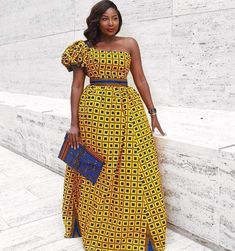Yellow African Print Dress/Off Shoulder Dress/African Print Dress/African Clothing/ African Dress/African Women's Clothing/African Fashion Women's Dresses, African Prom Dresses, African Fashion Dresses, African Dress, African Clothes, African Wear, African Style, African Outfits, Ankara Fashion