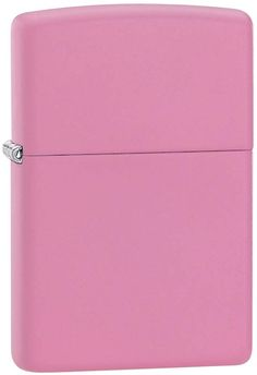 Zippo Pink Matte Lighter with Custom Image Printing