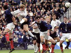 Paul Scholes. England v Scotland 1999/2000