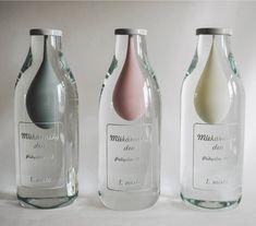 Ocenění pro nejlepší mléčné výrobky, Návrh: David Valner, Realizace: Valner Glass, zdroj: facebook Valner Glass