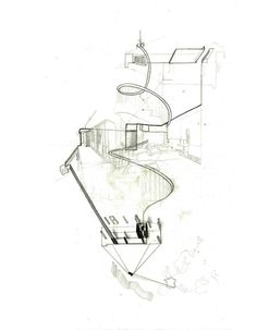 house analysis for by Eileen Gray Architecture Graphics, Architecture Drawings, Architecture Plan, Architecture Diagrams, Landscape Drawings, Abstract Drawings, Types Of Drawing, Eileen Gray, Health Research