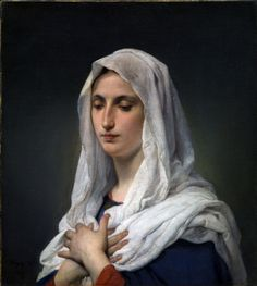 Francesco HAYEZ , Orante, 1869, Olio su tela, 61,5×55,3 cm - See more at: http://www.tripartadvisor.it/hayez-fornara-scipione-mostra-tesori-raccolta-poscio/