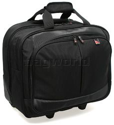 Qantas V-Jet cabin laptop bag.  Not  pretty but highly functional.  If you can't bet this one past the steward then you really are in trouble.