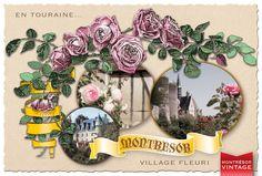 Le village façon 1900...