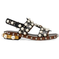 9dc98c68672 Gucci Leather Studded Sandal ( 1