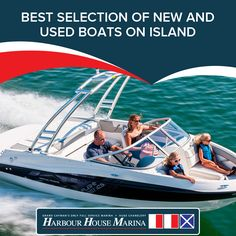 For the best selection of new and used boats on Island, contact Harbor House Marina.  #boats #usedboats #boatsforsale #caymanboats