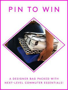 Click to enter. Hurry, the contest ends May 7! designer bags