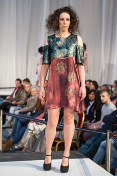 Amy McMaster, HND Fashion Textiles. Metamorphosis fashion, textiles and jewellery show, 1 June 2013.