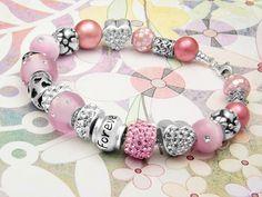 Memoir Bracelet ~ Free design idea from Artbeads Learning Center