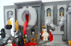The Nine Circles Of Hell, As Depicted In LEGO - II LUST
