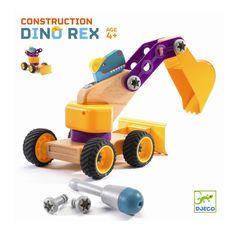Zoo Block Djeco - Koparka Dinozaur Rex