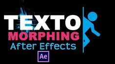 Shape Morphing Text After Effects Tutorial