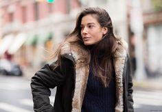 parkas militaire winter chiara baschetti fashion street style garance dore photos
