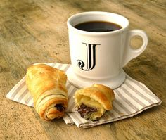 Jenny Steffens Hobick: Pain au Chocolat | Easy Chocolate Croissants from Puff Pastry | Pepperidge Farm Puff Pastry