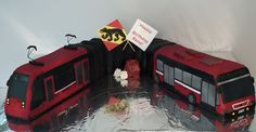 Torte, Geburtstag, Bernmobil, Tram, Bus, Bern, cake, birthday, tram