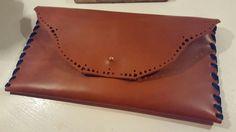Tan Leather WILDSTARclutchbags.com