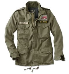 Just found this Steve McQueen Military Fatigue Jacket - Barbour%26%23174%3b Casual Thunder Jacket -- Orvis on http://Orvis.com!