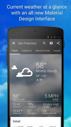 1Weather: Widget Forecast Radar v4.0.5 [Pro]l   1Weather: Widget Forecast Radar v4.0.5 [Pro]lRequirements:4.1Overview:1Weather is the most loved weather app on Google Play. At 4.6 stars no weather app has a higher rating among users. And reviewers have heaped on the praise as well.  Track and view weather forecasts and current conditions for My Location to get real-time updates wherever you go or add any location you choose. Whether you want to check the temperature precipitation forecast…