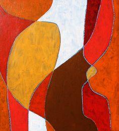 """""""Untitled #6"""", Acrylics on masonite, 9""""x 91/2"""", $50.00, Copyright 2012."""