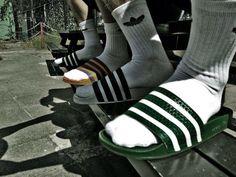 \ socks \ sandals