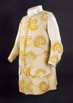 Waistcoat, 1725-50, European.