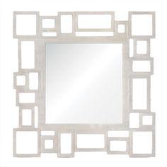 Renwil Malmo Brushed Nickel Mirror