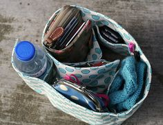 purse organizer. I could do this!