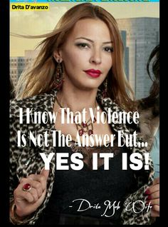 Clothing Designer For Mob Wives Drita Gotta Love Mob Wives Drita