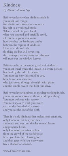 breast cancer inspirational poems, breast cancer inspirational quotes, silver lining, Naomi Shihab Nye Poem Quotes, Words Quotes, Wise Words, Sayings, Friend Quotes, Pablo Neruda, Kindness Poem, Mary Oliver Poems, Little Bit