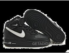 http://www.getadidas.com/womens-nike-air-force-1-mid-black-white-shoes-discount.html WOMENS NIKE AIR FORCE 1 MID BLACK WHITE SHOES DISCOUNT Only $54.39 , Free Shipping!