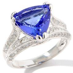My dream Tanzanite ring.