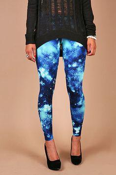 Galaxy Quest Leggings - Cool Leggings at Pinkice.com