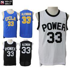 Abdul Jabbar #33 UCLA College Basketball Jerseys Throwback Cheap Original NBA Jerseys