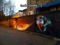 Graffiti Art For The Cold Winter