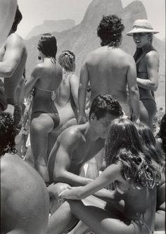 Praia de Ipanema,Rio de Janeiro, 1984
