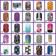 Jamberry Bingo!! Perfect for Facebook parties, but fun for in-home parties, too!